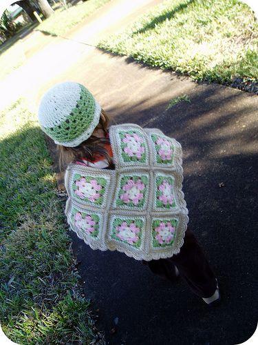 Granny Square Poncho | Pretty Prudent