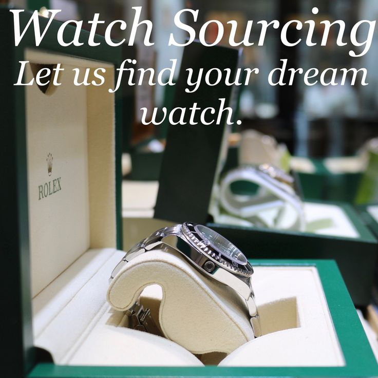 Are you struggling to find your dream watch? Contact us now, and we will try our very best to source it for you! Rolex, Omega, Tag Heuer, Audemars, whatever it is we can find it. www.humberstonesjewellers.co.uk