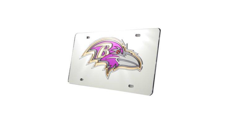 Rico Industries Baltimore Ravens License Plate