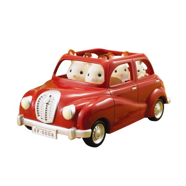 Rød Minibil, Sylvanian Families