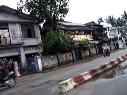 Motobike Taxi, Pathein, Myanmar
