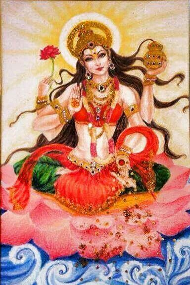 Lakshmi - Goddess of Cosmic Beauty & Lush Abundance
