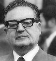 Salvador Allende Gossens (26 June 1908 – 11 September 1973) was a Chilean physician and politician, known as the first Marxist to become president of a Latin American country through open elections.