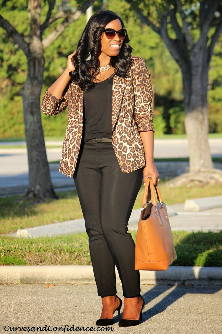 Curves and Confidence | Inspiring Curvy Fashionistas One Outfit At A Time: Leopard Obsession