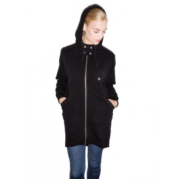 MODS PARKA JUMPER THE HIVE CLOTHING , BLACK  www.thehiveclothing.eu