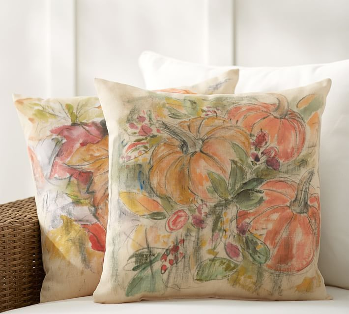 Foliage Print Indoor/Outdoor Pillows
