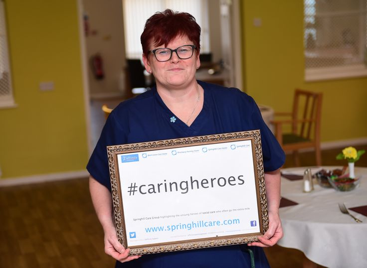 Angela is Birch Green's caring hero - Springhill Care Group Lancashire