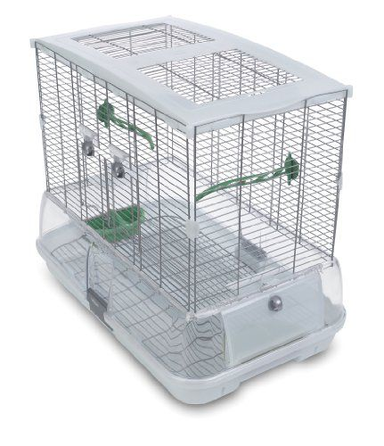 Vision Bird Cage Model M01 - Medium. It is a suitable cage for budgies, canaries, lovebirds and finches -