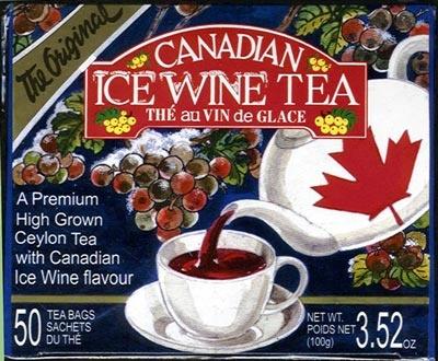 Canadian Ice Wine Tea 50 Bags $6.50
