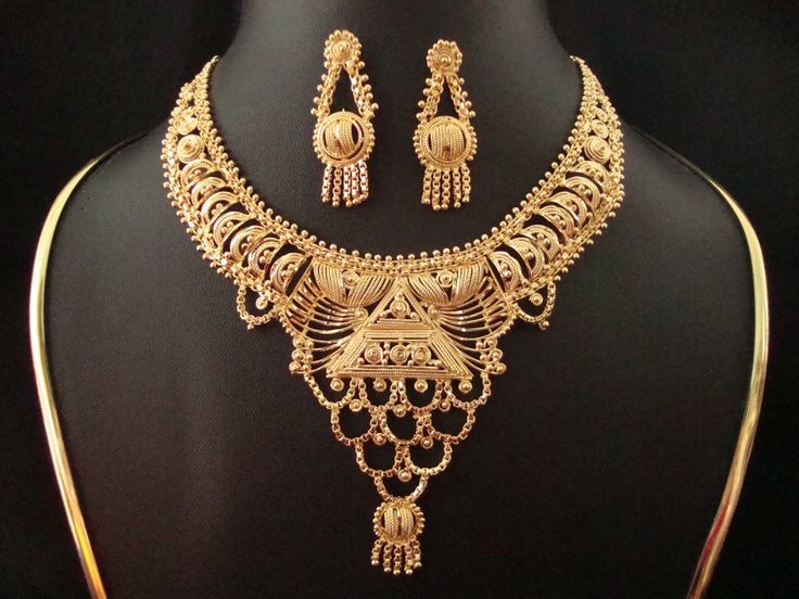 Gold Jewellery Designs | Gold Necklace Designs