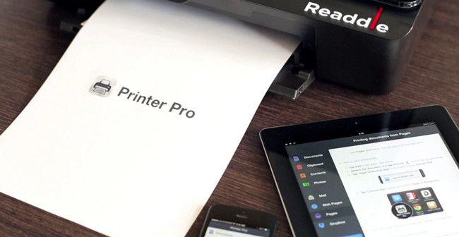 Printer Pro, impresión inalámbrica desde iOS