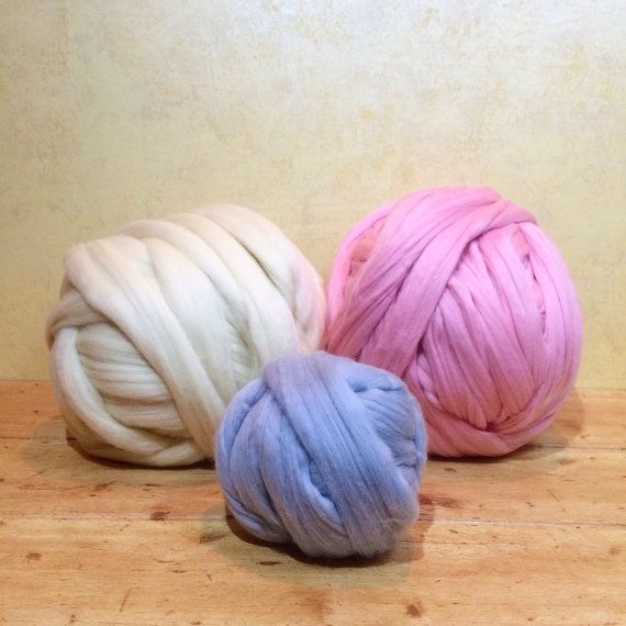 Super thick Yarn 70 oz 2 kg for blanket  3 by GiftsHomeDecor