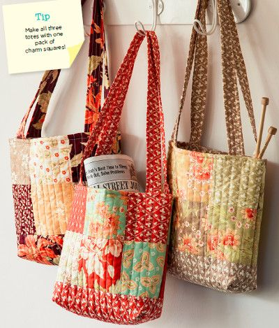 Quilting Patterns For Bags : Best 25+ Quilted tote bags ideas on Pinterest
