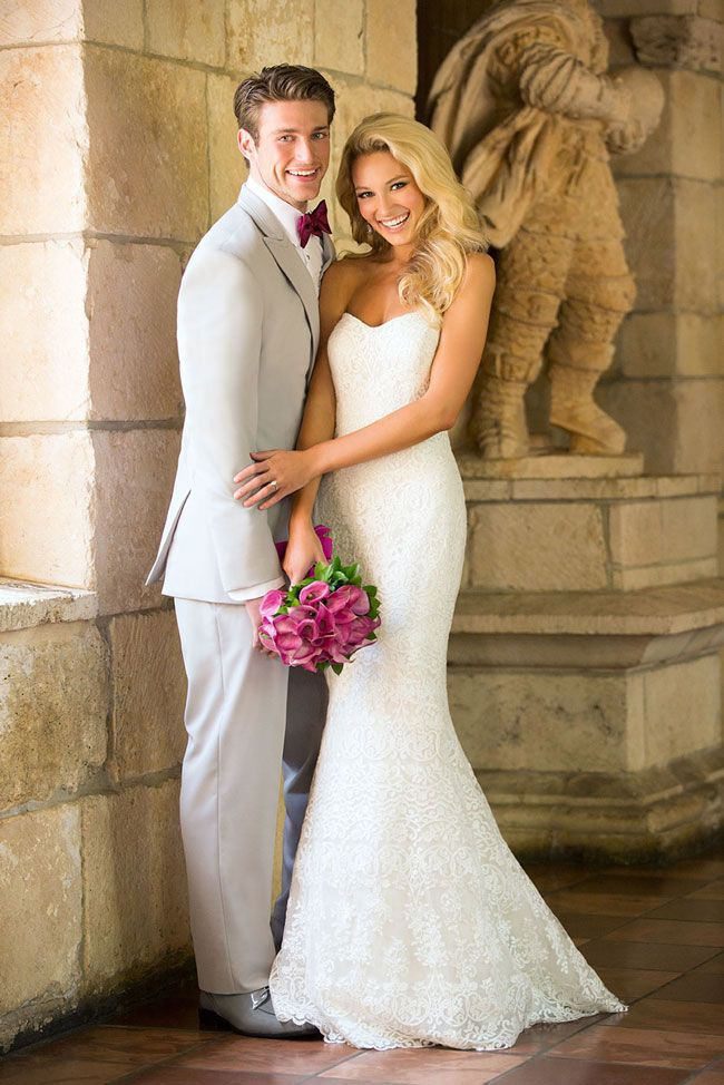 Allure Romance reveal best lace wedding dresses for 2015 – style 2700