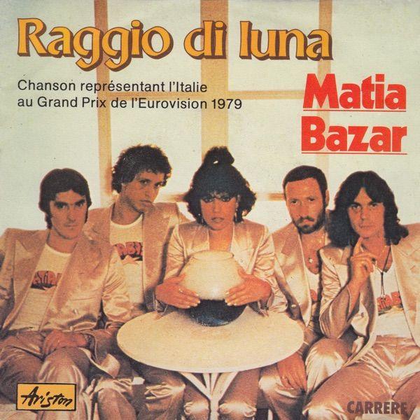 """""""Raggio Di Luna"""" performed by Matia Bazar. Italy @ ESC 1979."""
