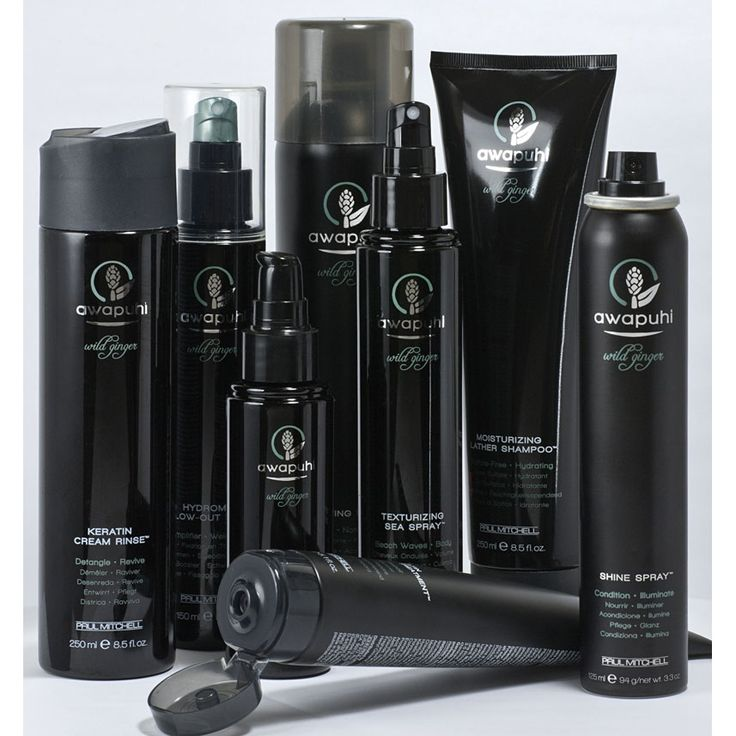 Paul Mitchell Awapuhi Wild Ginger is my new FAVORITE hair line. It smells amazing and guarentees beautiful healthy locks!!! <3 ((my favorite out of the line is the finishing spray.))