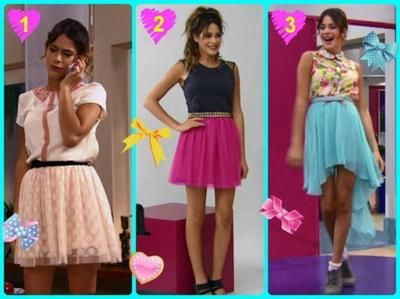Moda de Violetta Castillo - Buscar con Google