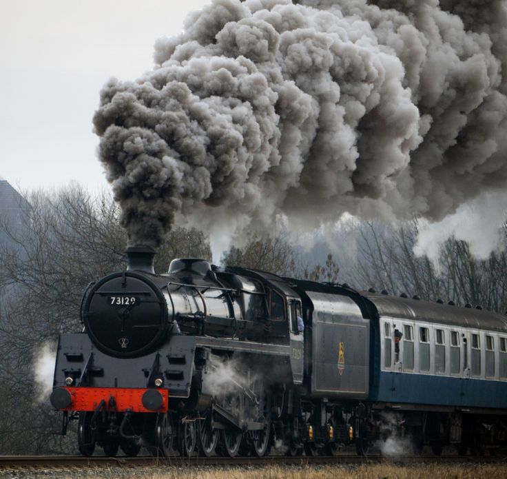 1950s - BR Locomotive 73129.