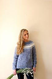 Ravelry: Mary's sweater/ Marygenser pattern by Marianne J. Bjerkman