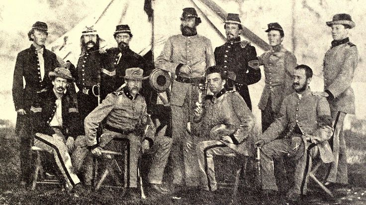 War of the Rebellion Atlas Plate 172 -1st Tennessee Light Artillery, 1861 (Miller's Photographic History of the Civil War)