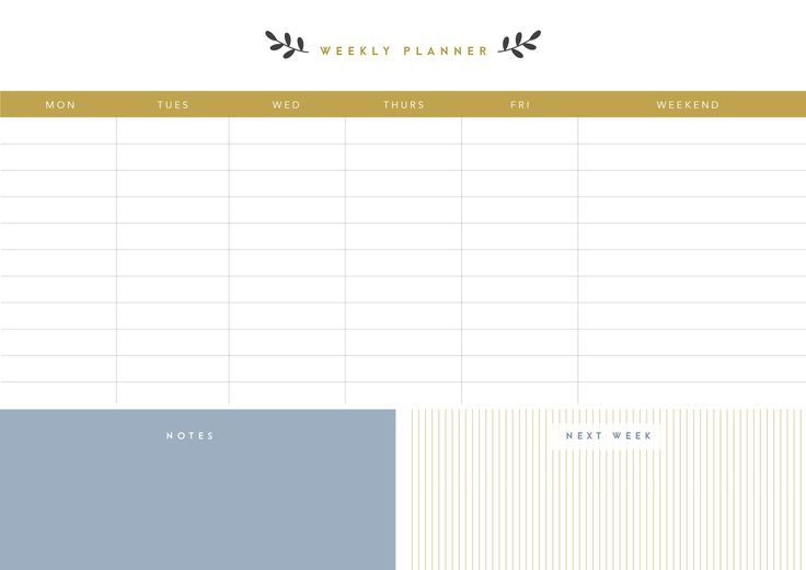 Printable Planner Bundle by The Template Depot on @creativemarket