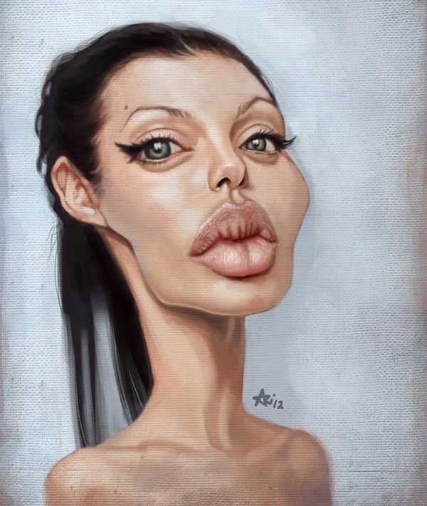 Funny Caricatures of Popular Clebrities5