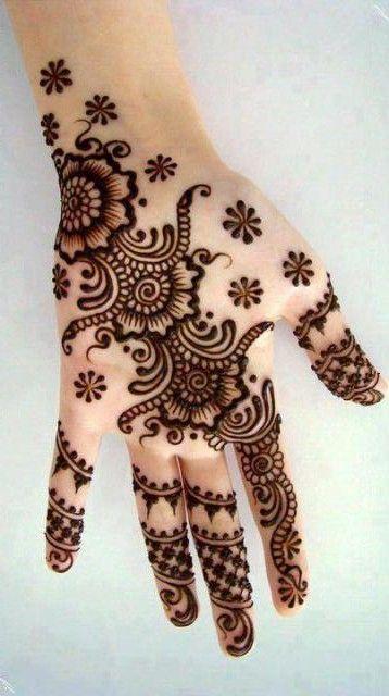 Mehandi Designs For Hands