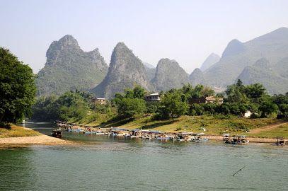 Xian de Yangshuo, Guilin, Guangxi, Chine