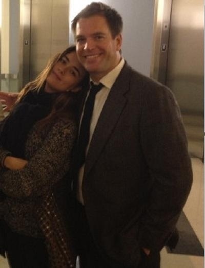 Cote de Pablo and Michael Weatherly as Ziva David and Anthony DiNozzo. I seriously love these two to death.