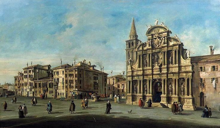 Francesco Guardi - Church of Santa-Maria Zobenigo
