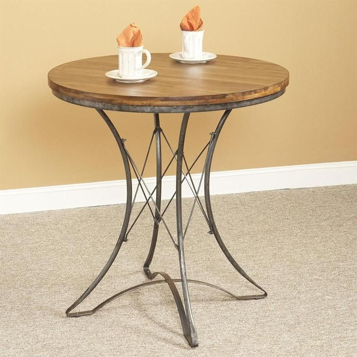 Shop For The Largo Abbey Round Pedestal Counter Table At Stoney Creek Furniture
