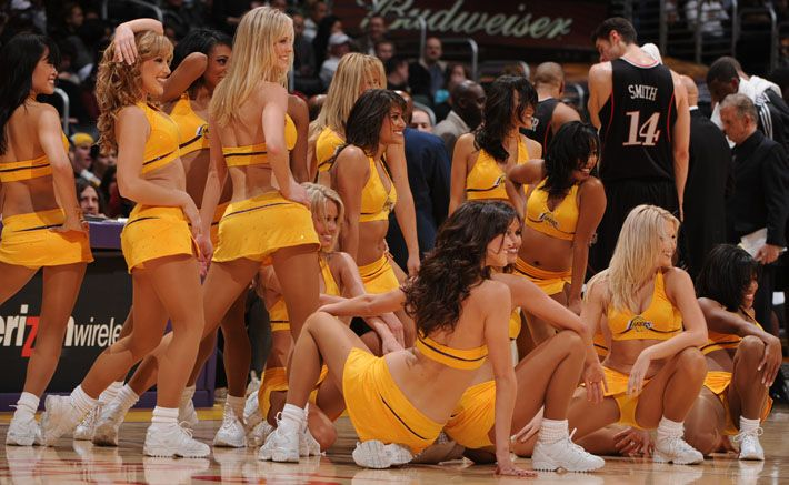 2008 Laker Girls Auditions ... how can I become a jury member ...