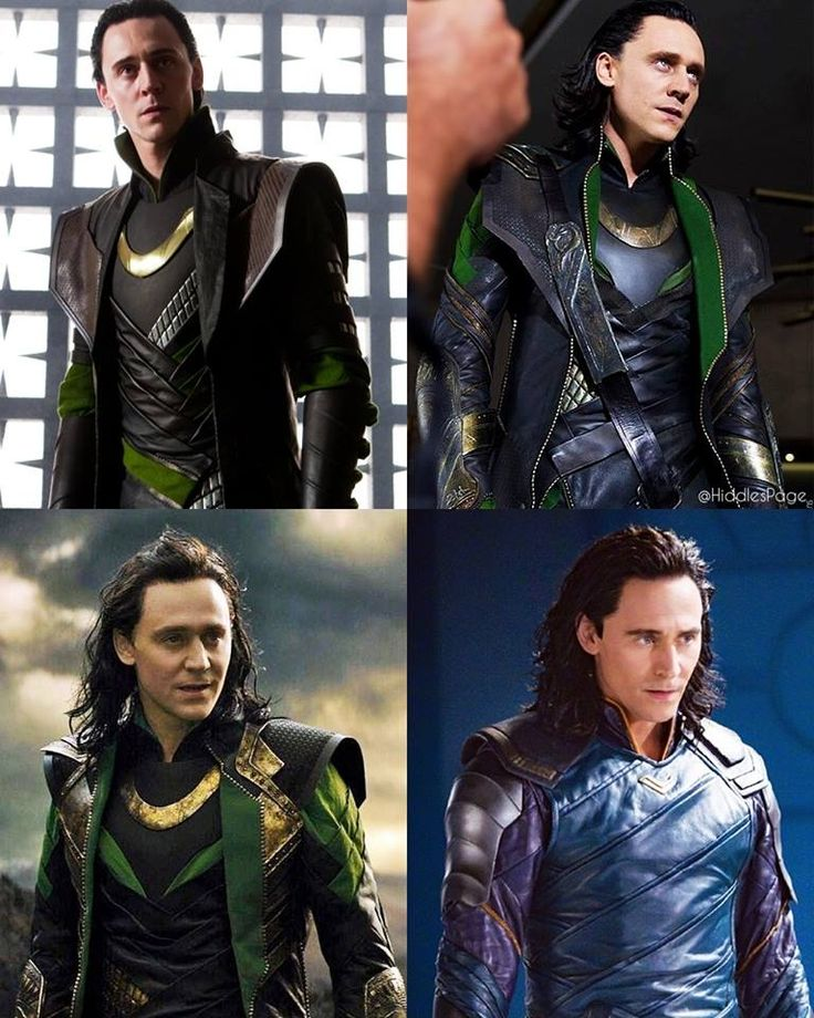 The evolution of Loki. Honestly, I have no idea how he has managed to become EVEN MORE attractive as the movies progress.