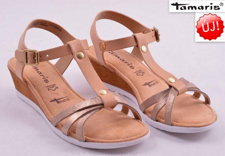 Tamaris női szandál megérkezett, a Valentina Cipőboltokba és Webáruházunkba!  http://www.valentinacipo.hu/tamaris/noi/barna/szandal/140382340  #tamaris #tamaris_szandál #tamaris_webshop #Valentina_cipőboltok