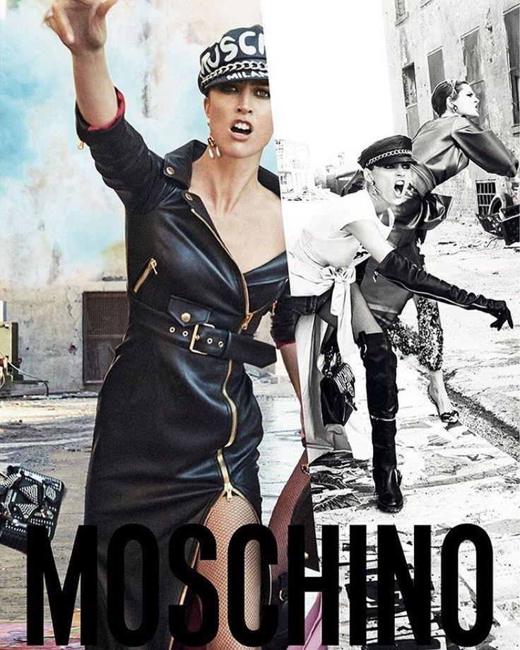 Moschino 2016 Fall / Winter Ad Campaign