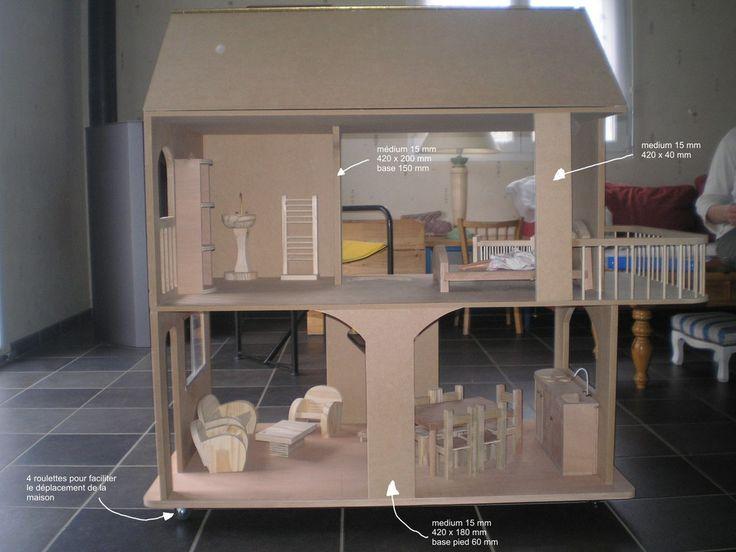 good les meilleures ides de la catgorie plans de maison de poupe sur pinterest diy maison poupe. Black Bedroom Furniture Sets. Home Design Ideas