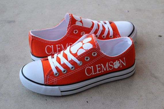 Orange Clemson Tigers Designer Team Shoe!