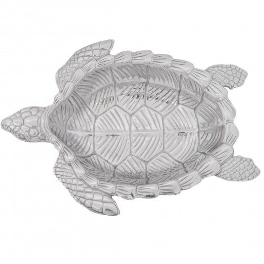 Sea Turtle Oval Serving Bowl | Arthur Court Designs | ACD104086