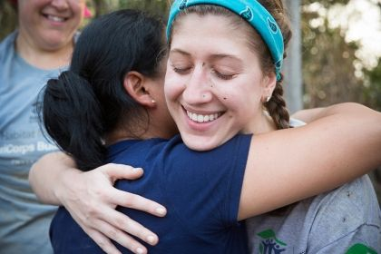 Check out volunteer opportunities at a Habitat for Humanity