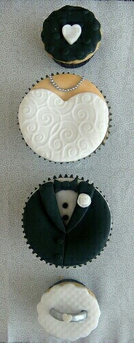 Wedding cupcake du jour