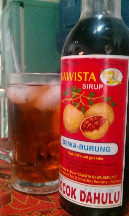 Syrup Kawista, Rembang, Central Java.
