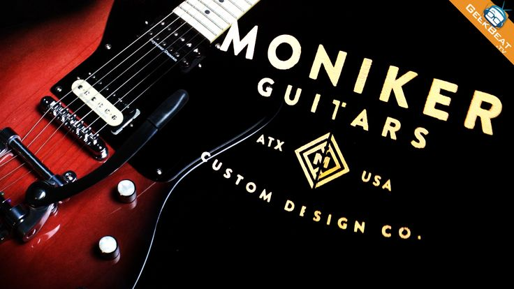 Guitarists love having distinctive and unique instruments, but that kind of individuality can come with a high price. Moniker Guitars is out to change that.