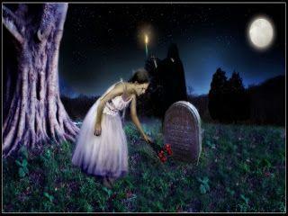 THE DIEry OF GILANG: Kuburan Cinta (puisi hitam)
