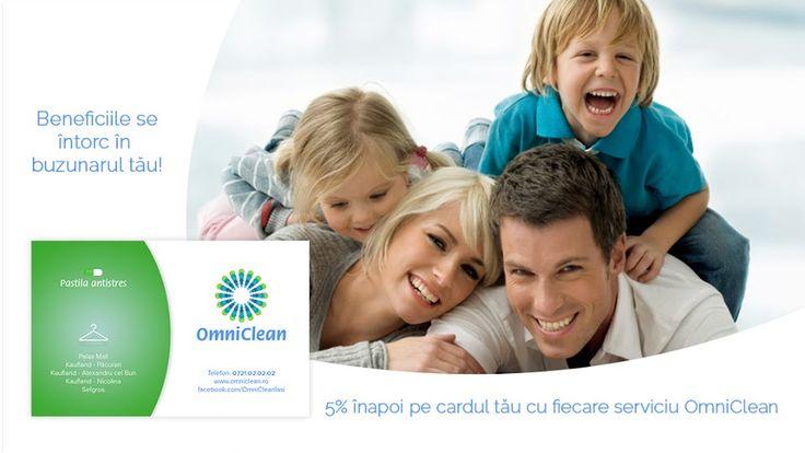 Fă parte din grupul de clienți care beneficiază de progresul tehnologic!  Bucură-te și tu, de cardul de fidelizare, și de beneficiile oferite de OmniClean! Detalii privind serviciile găsești și pe www.omniclean.ro