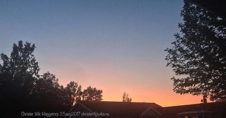 Fin himmel fredagskvällen erbjuder idag! #häggetorp #tibro