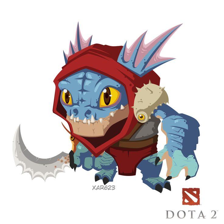 dota 2 fan art 'Slark' by XaR623.deviantart.com on @deviantART