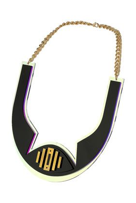 Sarah Angold For Freedom Cut Out Necklace