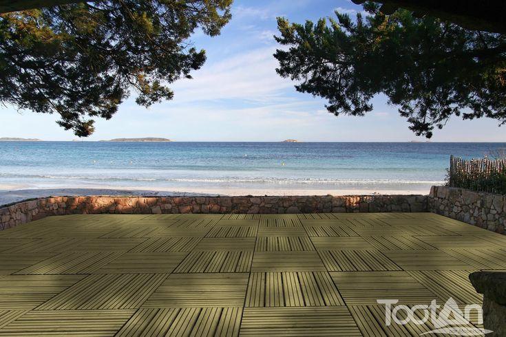 1000 id es propos de caillebotis terrasse sur pinterest for Caillebotis plastique jardin