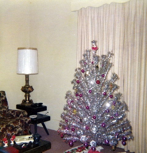 Silver Christmas Trees For Sale