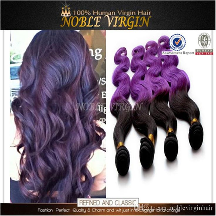 Wholesale!!cheap 100% Brazilian Purple Human Hair Extensions Body Wave Color #1b Purple Two Ombre Purple Weave 4 Bundle Deals Real Human Hair Weave Human Hair Weaving From Noblevirginhair, $1.06| Dhgate.Com